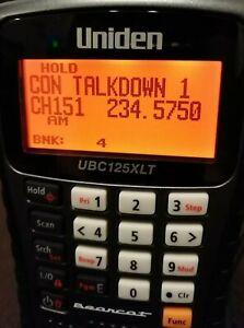 UNIDEN UBC125-XLT RADIO SCANNER EXCELLENT CONDITION BOXED COMPLETE