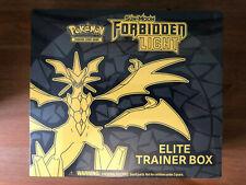 Pokemon TCG Sun & Moon Forbidden Light Elite Trainer Box   New & Sealed