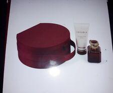 Boucheron TROUBLE Set EDP Spray 50ml+Body Milk 100ml + Vanity Case, NEU/OVP Rare