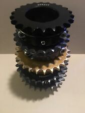 Alum Sprocket Set 50mm Axle 428 Chain / 7075 T6 22-23-26-28-29-For Shifter Karts