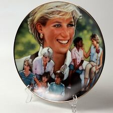 Princess of Wales Diana Collector Plate Franklin Mint Angel of Hope
