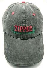 ZIPPER LAWN MOWERS gray adjustable cap / hat - 100% cotton