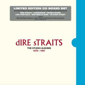 DIRE STRAITS - THE STUDIO ALBUMS 1978 - 1991 (LTD. 6CD BOX)