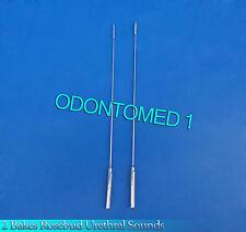 2 Pcs Bakes Rosebud Urethral Sounds 3mm+5mm