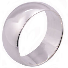 Plain Ring Sterling Silver Thailand Size US=11 V 2172