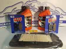 REPLACEMENT KIT SYM CITYCOM 300 OLIO ROIL FILTER PADS BRAKES FRONT REAR 2010