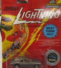 JOHNNY LIGHTNING CUSTOM MUSTANG GRAY FORD  JL 1995 Issue mip 1:64