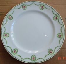 Pretty Floral Aynsley Side Plate Rose Buds Green Swags