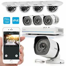 Zmodo 8CH HDMI NVR 1280*720p Megapixel IR CCTV Video Home Security Camera System