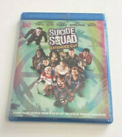Suicide Squad: Extended Cut Blu-ray Disc Will Smith New and Sealed