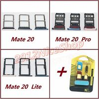OEM Nano Sim Card SD Card Tray Holder For Huawei Mate 20 / Mate 20 Pro / 20 Lite