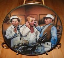 The Three Stooges, Dr. Howard Dr. Fine, The Franklin Mint 3 stooges Plate