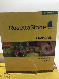 Rosetta Stone Homeschool: French Level 1-5 Set for PC, Mac