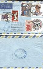 J) 1974 Mexico, International Correspondence, Mariano Azueta, Abstract Painting