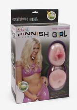 Bambola Gonfiabile Realistica Finnish Girl con Masturbatore, Vibrazione e Voce