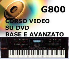 Video corso italiano 2 dvd manuale Roland G800 G600 E96 g-800 600 base+avanzato