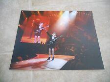 AC/DC Angus Young Live Concert Tour Guitar Color 11x14 Photo #6