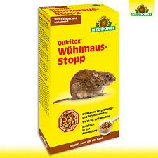 Neudorff Quiritox 200g Wühlmaus-stopp Distributeur Schermäuse Jardin Beet Champ