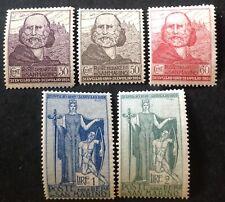 San Marino 1924 Garibaldi Set Of 5 Stamps mint hinged