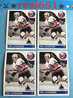 1985 Topps #137 PAT LaFONTAINE x 4 | New York Islanders | Buffalo Sabres HOF Lot