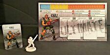 Zombicide: Chaz w/card C'MoN : Chuck Norris ultimate survivors zombicide