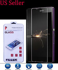 Tempered Gorilla Glass Screen Protector For Sony Xperia Z L36H L36i C6606 Usa