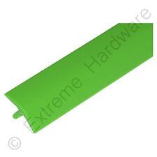 "17FT 5/8"" 15mm Bright Green T-Molding Plastic Edge Trim - Arcade Machine Cabinet"