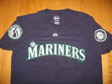 SEATTLE MARINERS KEN GRIFFEY JR. # RETIREMENT MLB JERSEY SHIRT BY MAJESTIC