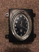 MASERATI QUATTROPORTE M139 DASH AIR VENT ANALOGUE CLOCK
