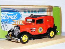 Eligor 1213 1932 Ford V8 Tudor Washington Fire Department 1/43