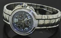 Mauboussin Stainless steel 1.0CT VS1/F diamond quartz chronograph men's watch