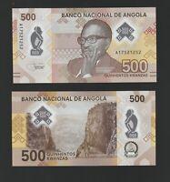 ANGOLA 500 KWANZAS 2020  !! NOVEDAD !!  - POLYMER  SC / UNC  P- NEW