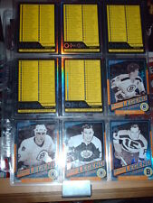 600 CARDS SET 2012-13 O-PEE-CHEE RAINBOW BLACK WITH ROOKIES ALL NUMBERED OUT 100