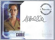 2007 Alien vs Predator Requiem Autographs Gina Holder as Carrie