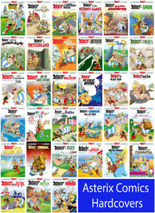 Asterix Comics - A Collection/Set  of 33 Brand New Big Sized Hardcover Books
