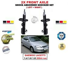 FOR DAEWOO LACETTI 1.4 1.6 1.8 2004->on 2X FRONT LEFT RIGHT SHOCK ABSORBERS SET