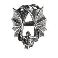 Alchemy of England Gothic Stealth Vampire Bat Wings Punk Horror Occult Ring R216