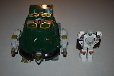 1994 POWER RANGERS TOR THE SHUTTLE ZORD & WHITE TIGER ZORD ACTION FIGURE.