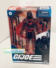 G.I. Joe Classified Series RED NINJA 6? Figure Wave 2 Hasbro Brand New