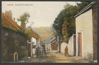 Postcard Slapton Village near Dartmouth Devon early view