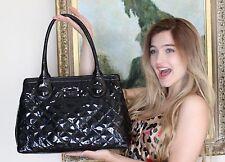 KATE SPADE RICH BLACK RARE Patent Leather Tutti Frutti Maryanne bag tote SHINE