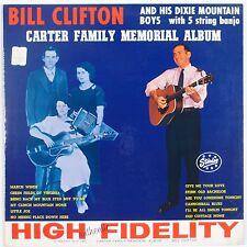 BILL CLIFTON & DIXIE MOUNTAIN BOYS: Carter Family Memorial STARDAY USA Orig LP