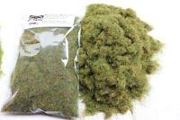 Static Grass 4mm Bulk Bag 50g - Meadow Green - Grass Flock First Class P&P