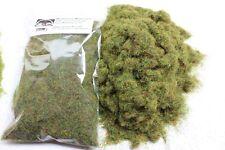 Herbe statique 4 mm en vrac, sac 50g-Vert Prairie-Herbe troupeau de première classe P&P