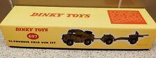 Dinky Toys 697 25 Pounder Field Gun Set - Boxed