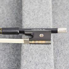Fibra de carbon arco de violín Pelo natural 102V 4/4