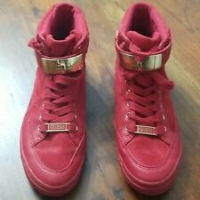 GUESS Red Athletic Shoes for Women for
