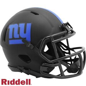 NY New York Giants Alt Eclipse Riddell Speed Mini Helmet - New in Riddell Box