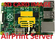 AirPrint Server SD Card Image Noobs for the Raspberry Pi / Pi2 / Pi3