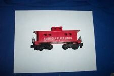 American Flyer Trains - 24636 AFL Caboose with Pikemaster Trucks